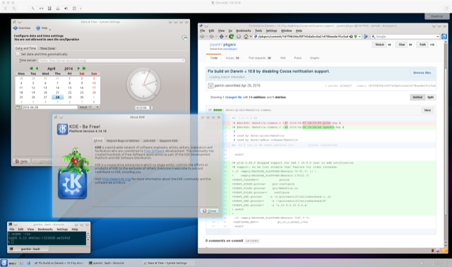 pkgsrc KDE 4 on OmniOS